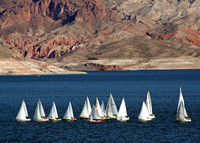 Sailboat Race on Lake Mead 2053
