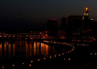 St Paul Skyline Night 0671
